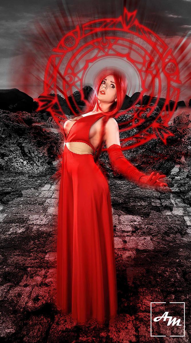 Red Flare - Fairy Tail by shalafidalamar21
