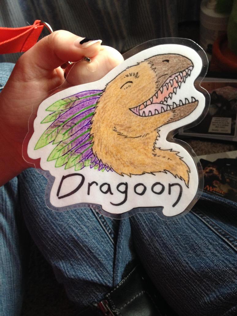 Dragoon Badge by Dragoonfliy