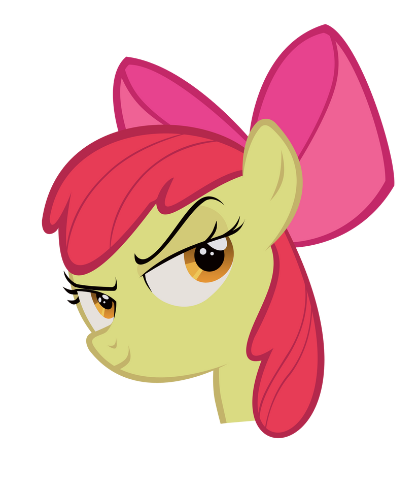 Applebloom, Proof it. by Sam-F-Nacman