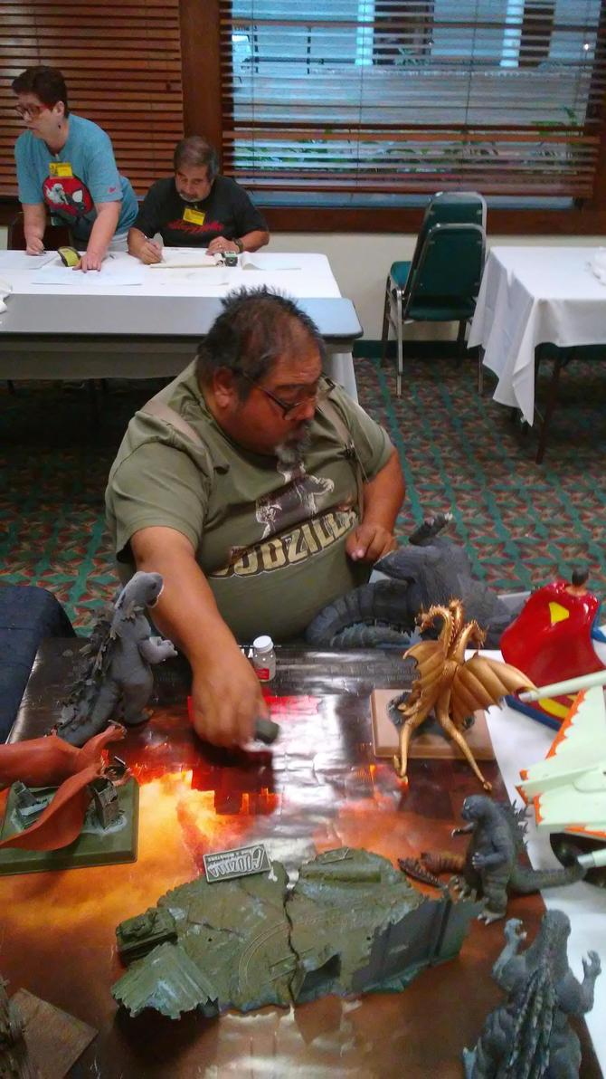 Fixing Godzilla by scifijoe