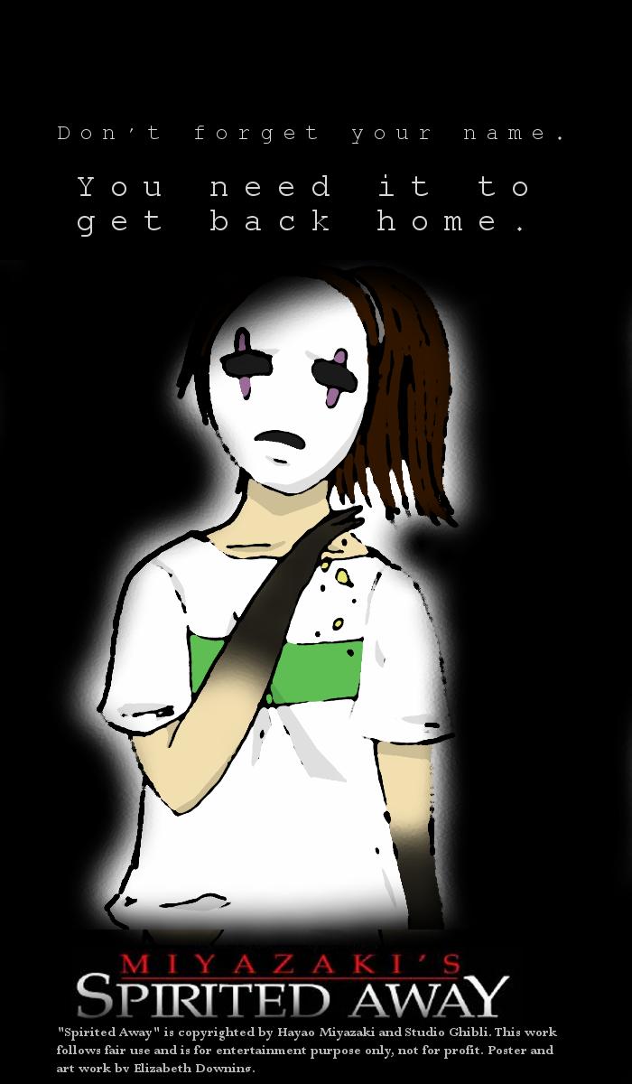 Spirited Away: Movie Poster by razzberridust on DeviantArt
