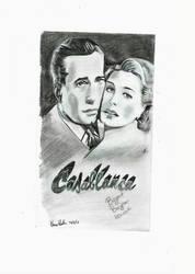 Casablanca sketch by Klairemartin