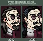 Draw this again meme 2020