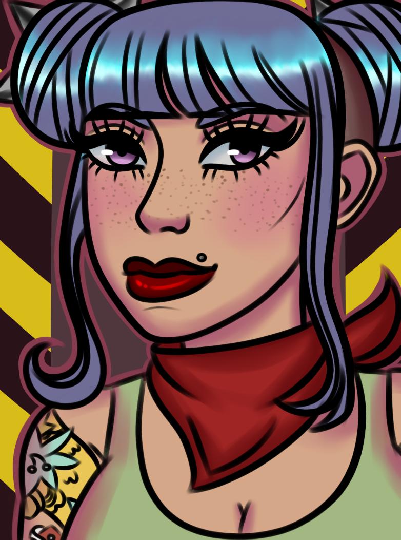 Pins! [Art Fight 2020 redraw]