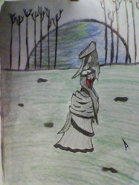 Nameless woman by Ambrosia-chan