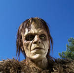 Frankenstein mask  2006 by Justin-Mabry