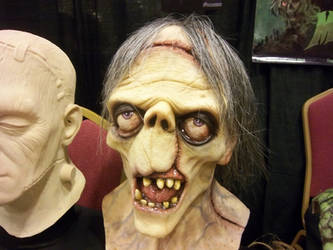 Dick Briefer Frankenstein  mask by Justin-Mabry