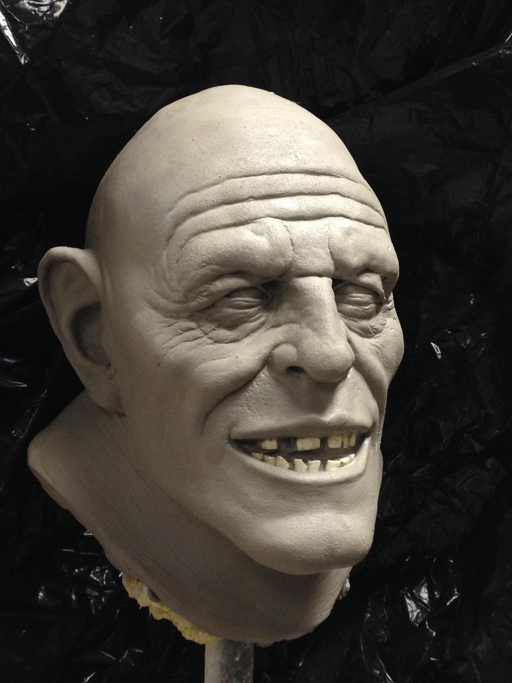 BGF Fleshlumpeater sculpture
