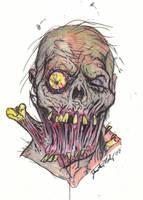 Sloppy Joe Zombie by Justin-Mabry