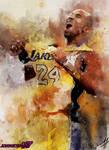 Kobe Bryant (Watercolor) by Johniceman-77
