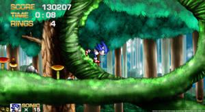 Sonic in Mushroom Hill