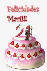 Felicidades Marina