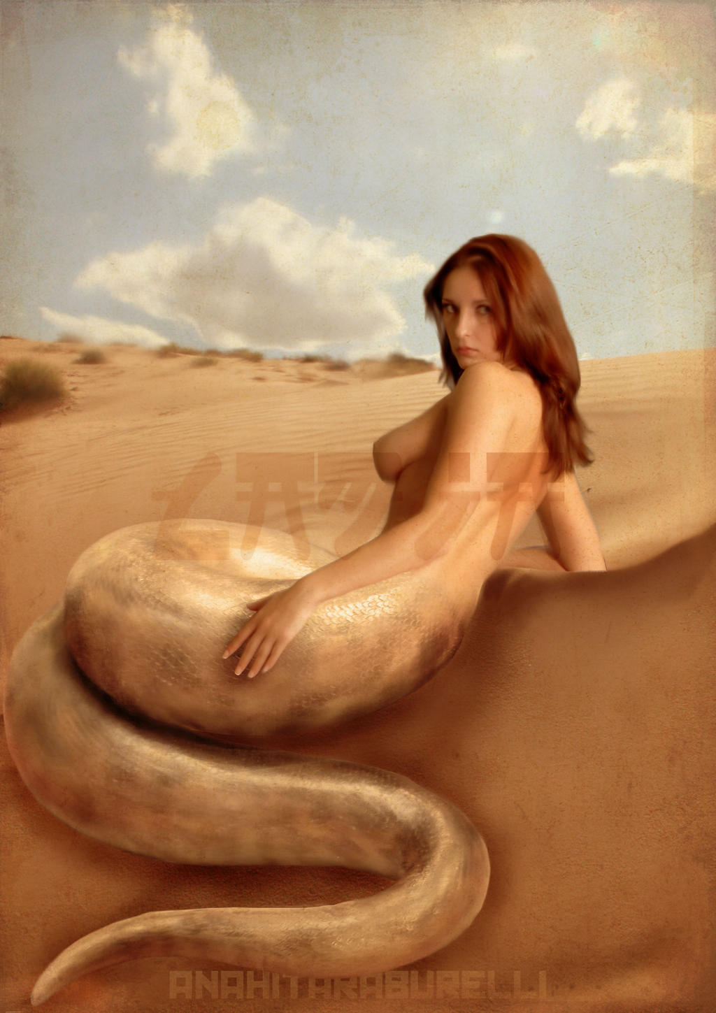 Sexy mermaids with naked boobs nsfw picture