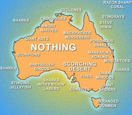 my map of australia by bad girl sniper