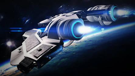 Spaceship by spiritdsgn