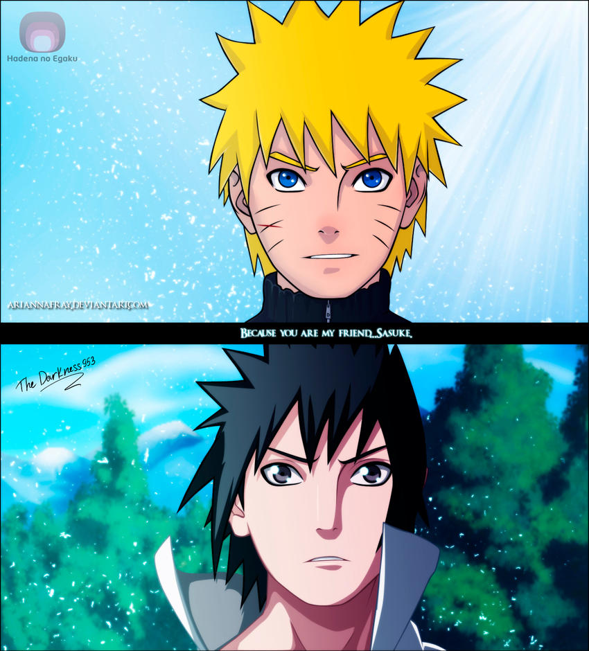 Naruto 486 'Because You're My Friend' By DarkNyash On