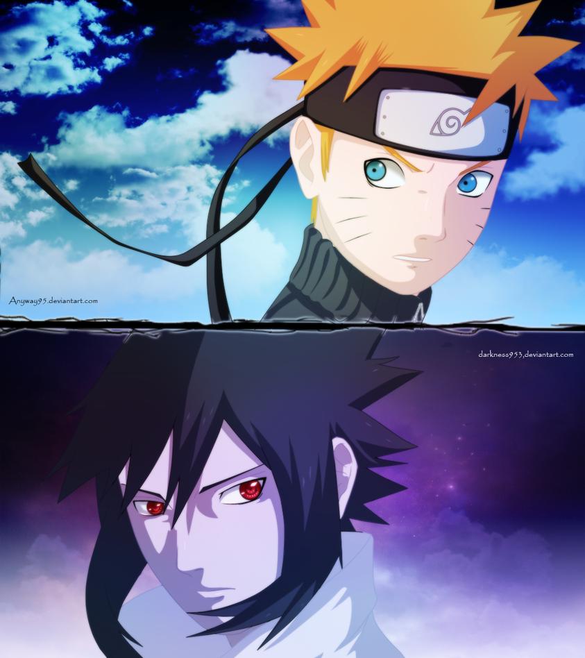 Naruto And Sasuke : Friends By DarkNyash On DeviantArt