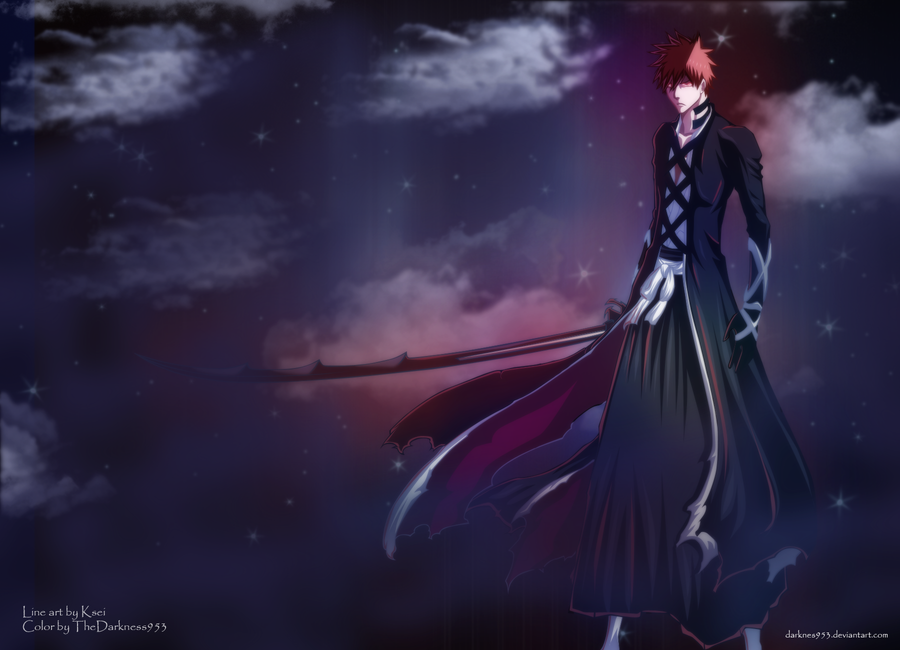 Bleach 475 : New Bankai Ichigo by DarkNyash on DeviantArt