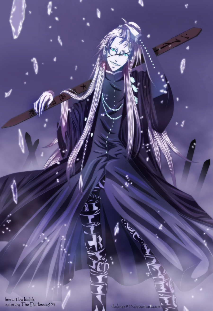 Kuroshitsuji Undertaker By DarkNyash