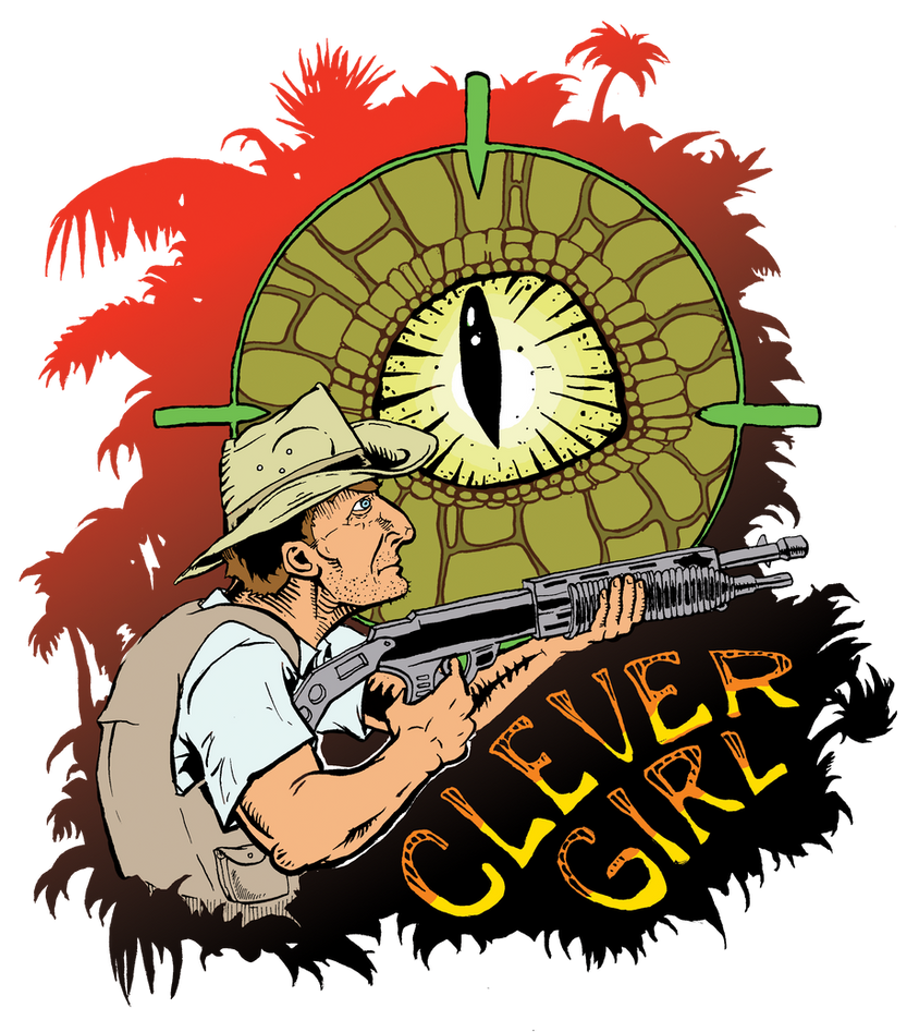 Clever Girl by Lolzards