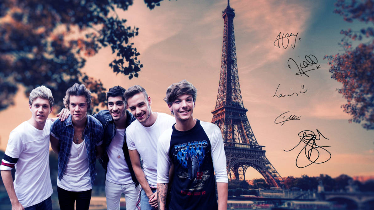 One Direction wallpaper by Madi-Milkshakes ...