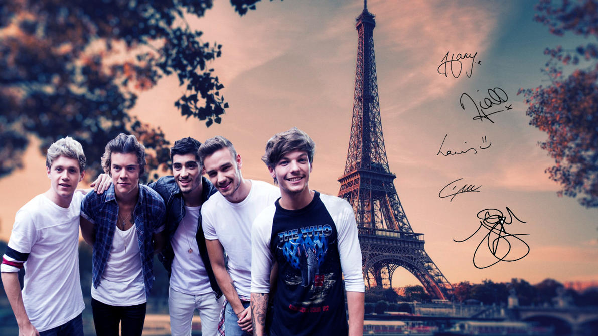 One Direction wallpaper by Madi-Milkshakes on DeviantArt
