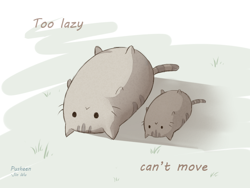 too lazy can't move