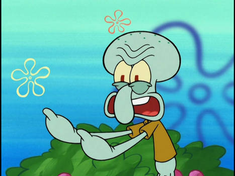 Angry Squidward