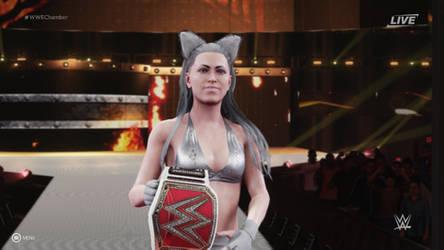 Yumia Mokuno - the Raw Women's Champion.