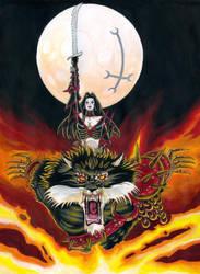 Claudia Demona III by vutvut