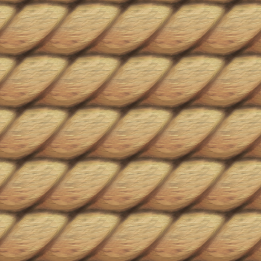 Hand Painted Rope Texture