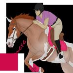 Hunter Jumper Pixel Pony by AnimereCreations