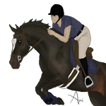 Hunter Jumper by AnimereCreations
