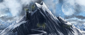 MOUNTAIN FORT by behindspace99