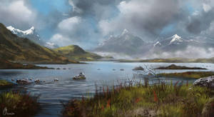 Highland Islands by behindspace99