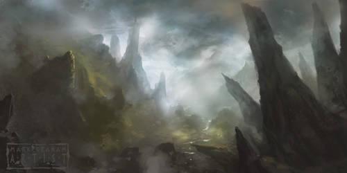 Denethor Spires by behindspace99