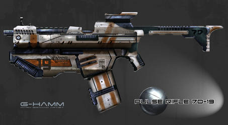 Pulse Rifle Concept
