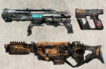 P12 weapon and equipment design