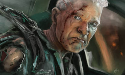 Colonel Miles Quaritch speed paint 1hour 40min