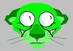 random green cougar by comrade-carpet