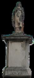 Statue Lake Lugano Switzerland by maeame21
