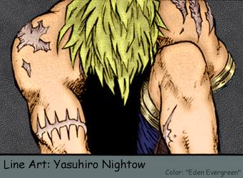 Trigun: Vash on a Terrible Day by EdenEvergreen