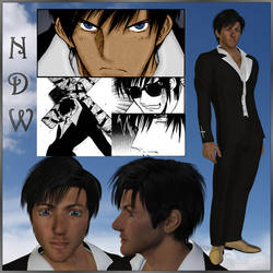 Trigun: Wolfwood (3D) by EdenEvergreen