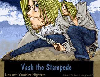 Trigun: Vash as Eriks by EdenEvergreen