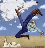 Trigun: Vash Kicking