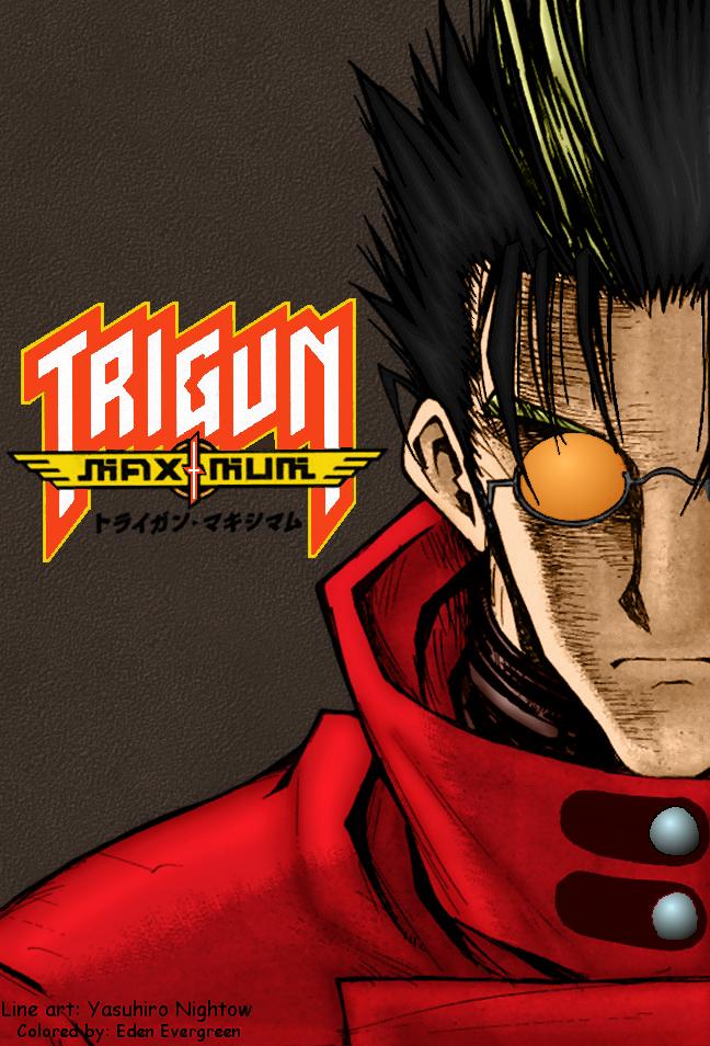 Trigun Maximum Vash Full Color By Edenevergreen On Deviantart