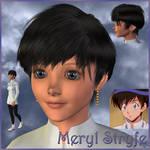 Trigun: Meryl Stryfe (3D) by EdenEvergreen