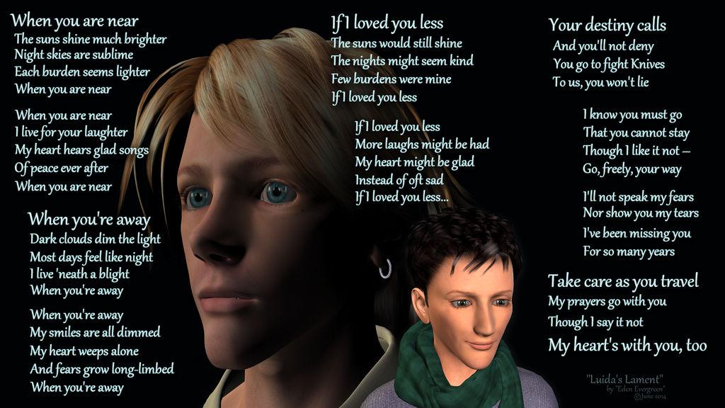 Trigun: Luida's Lament (3D) by EdenEvergreen