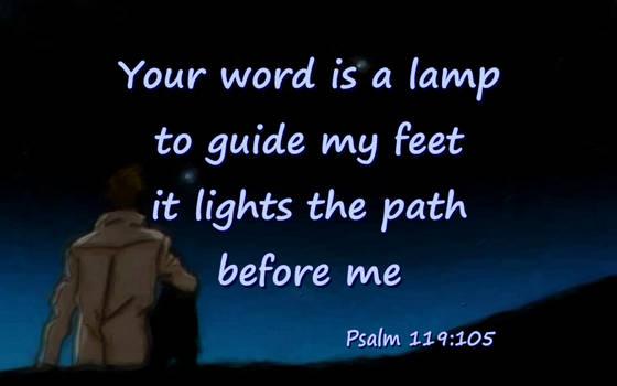 Psalm 119:105 with Vash