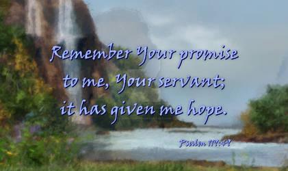 Psalm 119:49